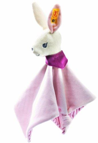 【限定製作】 Steiff (White/ 237553 シュタイフ Pink) ぬいぐるみ Hoppy ラビット うさぎ Hoppy Bunny Comforter (White/ Pink), テンヨーショップ:432ad0dc --- kventurepartners.sakura.ne.jp