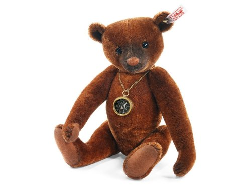 Steiff 035166 シュタイフ ぬいぐるみ テディベア Limited Edition Nando Teddy Russet Tipped with Compass 30cm