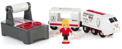 BRIO ブリオ 木製 レール リモートコントロール トレインセット 33510 Rail Remote Control Train Set