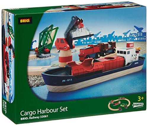 BRIO ブリオ 木製 レール 貨物船セット カーゴハーバー 33061 Rail Cargo Harbour Set