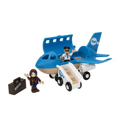 国内初の直営店 BRIO BRIO ブリオ 33306 木製 レール おもちゃ Set 飛行機プレイセット 33306 Airplane Boarding Play Set, eショップ カワシマ:472beaaf --- fabricadecultura.org.br