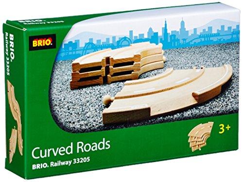 新しいスタイル BRIO ブリオ ブリオ 木製 レール レール 33205 33205 Curved Roads, 激安特価 :9fed2e40 --- clftranspo.dominiotemporario.com