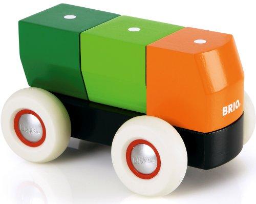 【新品、本物、当店在庫だから安心】 BRIO ブリオ ブリオ 木製 おもちゃ おもちゃ マグネット式 スタッキング トラック トラック 30136 Magnetic Stacking Truck, 鹿島市:67ff6d18 --- kventurepartners.sakura.ne.jp