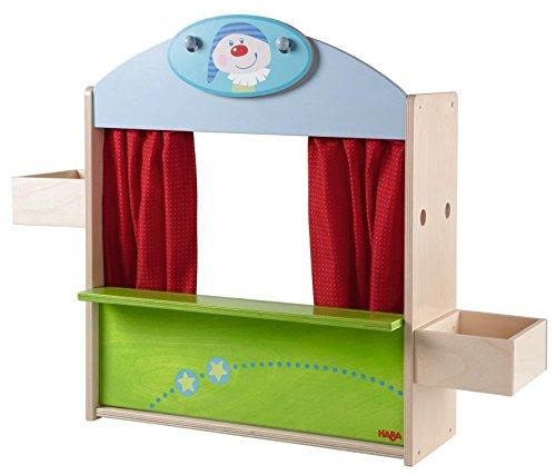HABA ハバ社 木製 おもちゃ 知育玩具 人形劇場 Puppet Theatre/Toy Shop
