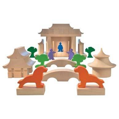 【オープニング 大放出セール】 HABA ハバ社 木製 日本建築 おもちゃ 知育玩具 日本建築 ブロック 積み木 ハバ社 Japanese Japanese Architectural Blocks, MamaとBabyの専門店*ベビーオグ*:a8983377 --- independentescortsdelhi.in