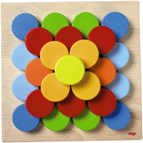 超大特価 HABA ハバ社 木製 木製 おもちゃ Color 知育玩具 ボタンゲーム Color Buttons Pegging 知育玩具 Game, 快適住まいライフ:5c652680 --- kventurepartners.sakura.ne.jp