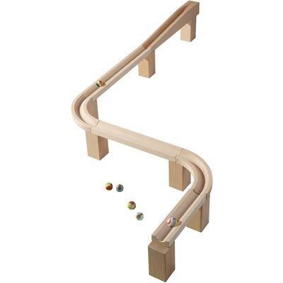 結婚祝い HABA Ball ハバ社 木製 おもちゃ 知育玩具 組立てクーゲルバーン HABA Horizontal track - 木製 Marble Ball Track Accessory, クラシキシ:fb8648d9 --- kventurepartners.sakura.ne.jp