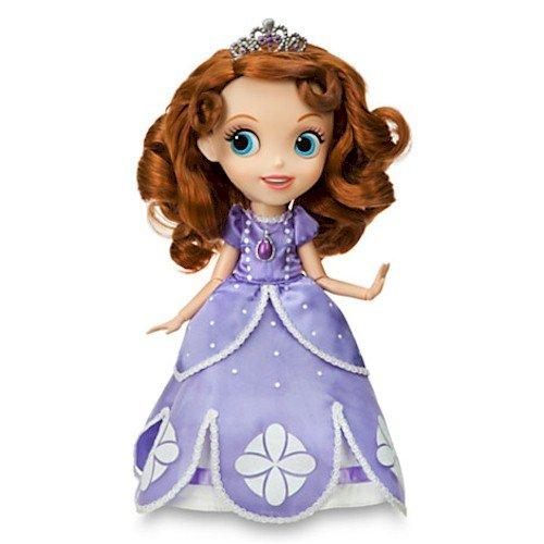 ディズニー ドール フィギュア 人形 ちいさなプリンセス ソフィア Disneys Sofia the First Singing Doll