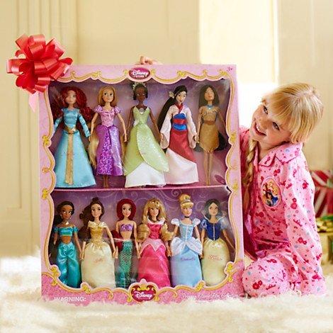 ディズニープリンセス ドール フィギュア 人形 白雪姫 シンデレラ オーロラ姫 アリエル ベル ジャスミン ポカホンタス ムーラン ティアナ ラプンツェル メリダ Disney Exclusive Princess Doll Collection 12''