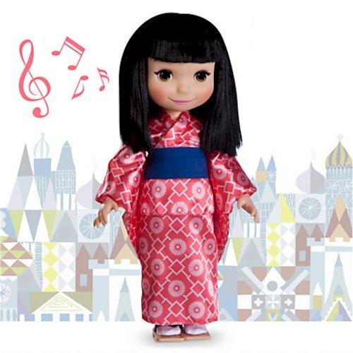 ディズニー ドール フィギュア 人形 イッツ・ア・スモールワールド 日本 ''it's a small world'' Japan Doll - 16''