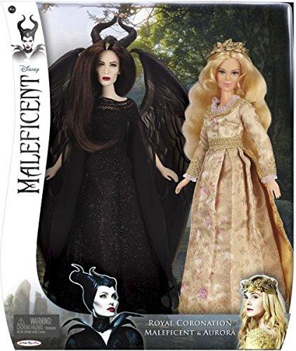 上品な ディズニー ドール フィギュア 人形 マレフィセント オーロラ姫 Disney Royal Coronation Doll 2-pack with MALEFICENT and AURORA (82831), 柴又亀家本舗 0ab53346
