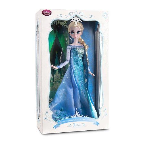 ディズニー ドール フィギュア 人形 アナと雪の女王 エルサ 2500限定 Disney Store Frozen Limited Edition Princess Elsa Doll: 17