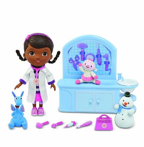 ディズニー ドール フィギュア 人形 ドックはおもちゃドクター Disney Doc McStuffins Magic Check Up Center