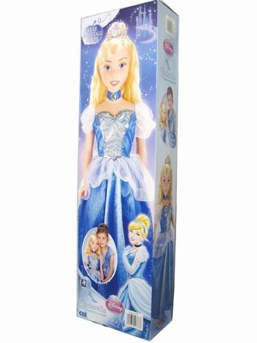 ディズニー ドール フィギュア 人形 シンデレラ 大きいサイズ (約91.4cm) Cinderella Doll Over 3 Feet Tall