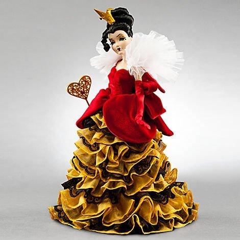ディズニー ドール フィギュア 人形 アリス・イン・ワンダーランド 赤の女王 Queen of Hearts Disney Villains Limited Edition Designer Collection Doll with Certificate of Authenticity