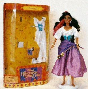 ディズニー ドール フィギュア 人形 ノートルダムの鐘 エスメラルダ Disney Hunchback of Notre Dame ESMERALDA 11.5