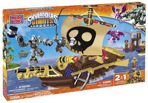 【待望★】 メガブロック 海賊 スカイランダーズジャイアンツ Skylanders 海賊 Mega Bloks Pirate Skylanders Crusher's Pirate Quest, パリセレクトショップ「Julietta」:5093fb2e --- kventurepartners.sakura.ne.jp