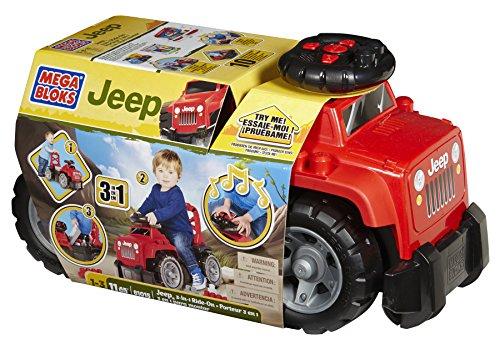 メガブロック ジープ レッド Mega Bloks Jeep Ride-On, Red