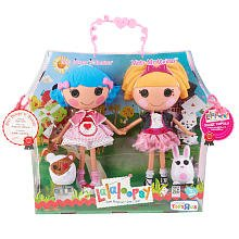 ララループシー ソフトドール 人形 Lalaloopsy Large Doll 2 - Pack - Misty Mysterious and Rosy Bumps 'N Bruises