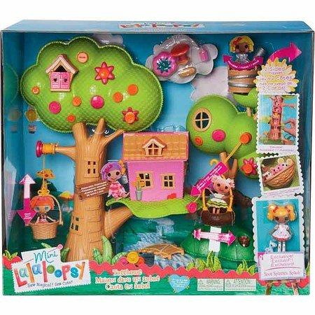 ミニララループシー ソフトドール 人形 ツリーハウス Mini Lalaloopsy Treehouse