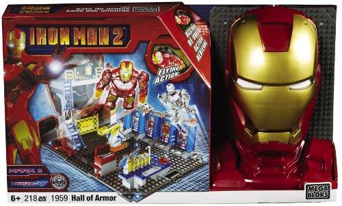 100%正規品 メガブロック 1959 Ironman アイアンマン2 プレイセット of Mega Playset Bloks Ironman 2 Hall of Armor Playset, クッチャンチョウ:21dbefd8 --- kventurepartners.sakura.ne.jp