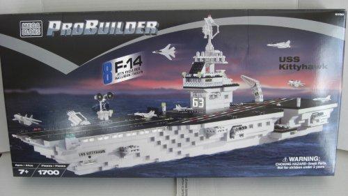 メガブロック 1700 プロビルダー キティホーク 空母 MEGA BLOKS PROBUILDER USS KITTYHAWK