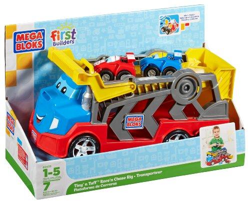 気質アップ メガブロック カーキャリア Mega Bloks First Builders Tiny 'n Tiny Bloks Tuff Builders Race 'n Chase Rig, BeautyHolic:3dd9daa8 --- kventurepartners.sakura.ne.jp