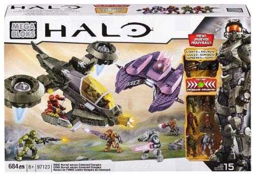 メガブロック 97123 ヘイロー Mega Bloks Halo UNSC Hornet vs Covenant Vampire