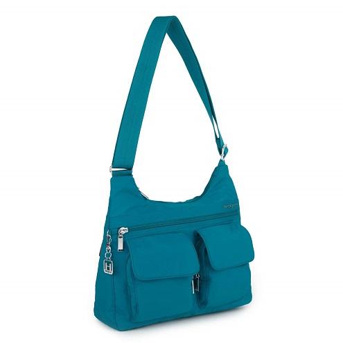 Hedgren ヘデグレン レディース ショルダーバッグ ブルー Prarie Women's Shoulder Bag - 17 x 6 x 20 cm, Blue