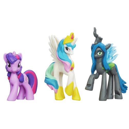 マイリトルポニー フィギュア 人形 ドール サプライズセット クイーンクリサリス トワイライトスパークル プリンセスセレスティア My Little Pony Royal Surprise Set