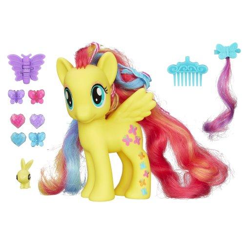 マイリトルポニー フィギュア 人形 ドール スタイリング フラッターシャイ My Little Pony Styling Strands Fashion Pony Fluttershy Figure, 6-Inch