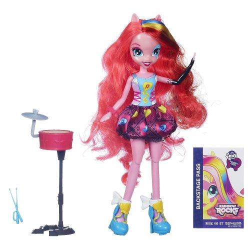 マイリトルポニー フィギュア 人形 エクエストリアガールズ レインボーロック ピンキーパイ ドール My Little Pony Equestria Girls Singing Pinkie Pie Doll