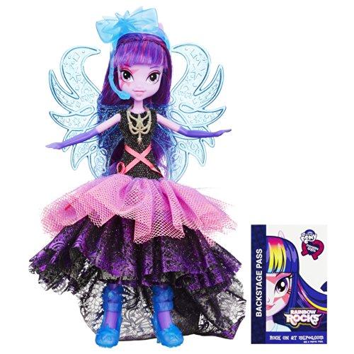 マイリトルポニー フィギュア 人形 エクエストリアガールズ レインボーロック デラックスドレス トワイライトスパークル ドール My Little Pony Equestria Girls Rainbow Rocks Deluxe Dress Twilight Sparkle Doll