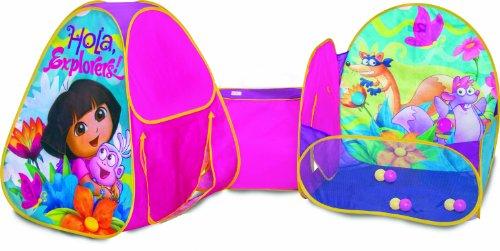最も優遇 プレイハット テント キッズ 子供 プレイハット ドーラといっしょに大冒険 テント Playhut Dora キッズ Play Zone Tent, 水着レオタードのエコーソーイング:9fcbc812 --- kventurepartners.sakura.ne.jp