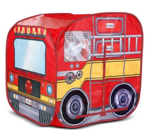 プレイハット テント キッズ 子供 ファイアエンジン 消防車 Playhut Mini Fire Vehicle Tents