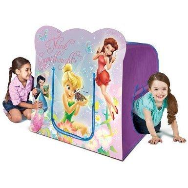 プレイハット テント キッズ 子供 ディズニー フェアリーズ ティンカーベル Playhut Disney Fairies Hide N Play