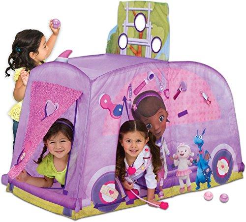 プレイハット テント キッズ 子供 ディズニー ドックはおもちゃドクター Playhut Doc McStuffins Mobile Clinic