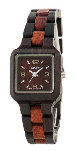 テンス 時計 腕時計 木製 Tense Two-Tone Sandalwood Wood Summit Small Wrist Watch L7305DS DF