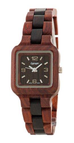 テンス 時計 腕時計 木製 Tense Two-Tone Sandalwood Wood Summit Small Wrist Watch L7305SD DF