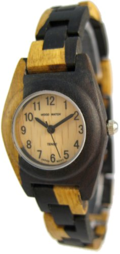 テンス 時計 レディース 腕時計 木製 Tense Natural Dark Light Wooden Watch Multicolored Ladies L8109DM
