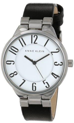 アンクライン 時計 レディース 腕時計 Anne Klein Women's AK/1619WTBK Easy-to-Read Dial Watch