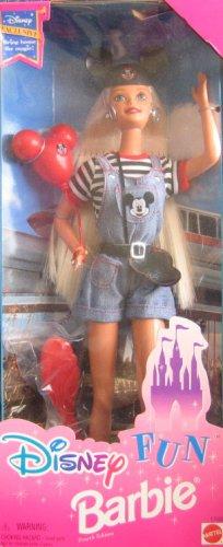 バービー ディズニー ミッキーマウス ドール 人形 フィギュア Disney Exclusive - Disney Fun Barbie (1996)