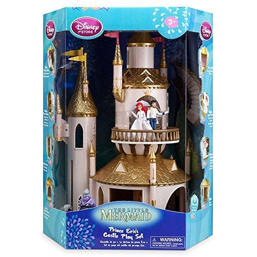 ディズニー プリンセス ドール 人形 フィギュア リトルマーメイド アリエル エリック プレイセット Disney Store The Little Mermaid Princess Ariel/Eric Castle Play Set + 6 Figures