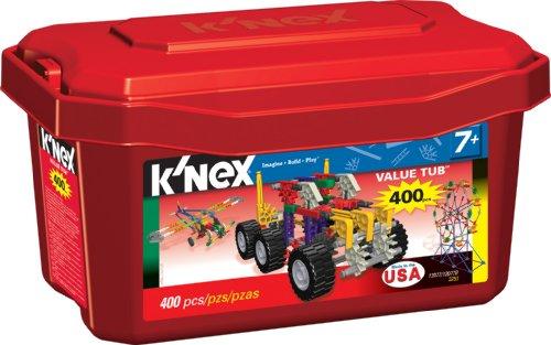 ケネックス ブロック おもちゃ バリュータブ Knex Value Tub 400 piecesDYEIeW29H
