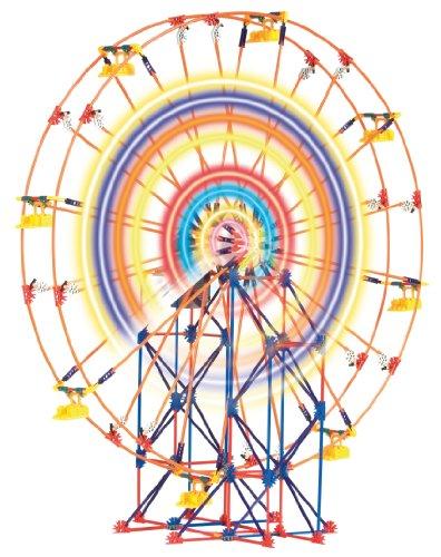 ケネックス ブロック おもちゃ ライトアップ 観覧車 K'NEX Thrill Rides - Light-Up Ferris Wheel