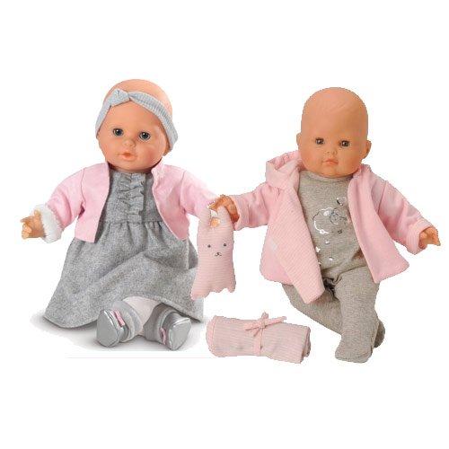 最新 コロール ベビードール 赤ちゃん 人形 フィギュア 人形 aBaby aBaby ベビードール My Chic Twin Baby Dolls, 周防大島町:7bac4327 --- canoncity.azurewebsites.net
