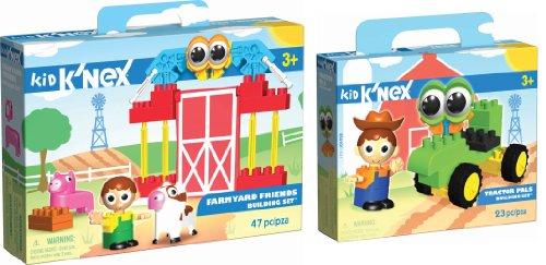 最適な価格 キッド ケネックス ブロック おもちゃ トラクター ファームヤード ビルディングセット K'NEX K'NEX Building Kid Set Tractor Pals/Farmyard Friends Interlocking Building Set Kit, 記念品と表彰用品の123トロフィー:0e541783 --- bungsu.net