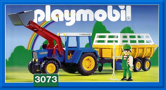 D Playmobil Cow Pasture 4494