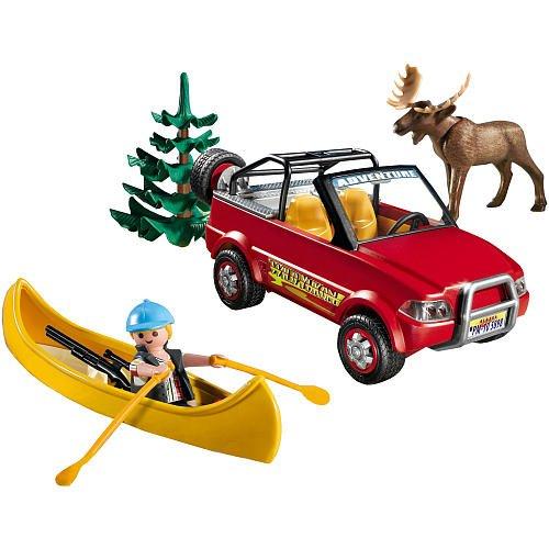 安い購入 プレイモービル 5898 カヌーのアドベンチャーセット Playmobil 5898 Playset 5898 4-Wheel Drive 4-Wheel with with Kayak and Ranger 45 Pc. Set, フィットインナーBinKan:104c0bc5 --- kventurepartners.sakura.ne.jp