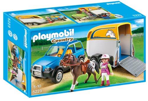 【破格値下げ】 プレイモービル with 5223 5223 PLAYMOBIL 馬の輸送車 PLAYMOBIL SUV with Horse Trailer, セブンヘブンストア:c2ccd52a --- kventurepartners.sakura.ne.jp